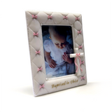 Baptized in Christ Picture Frame (Multiple Colors)