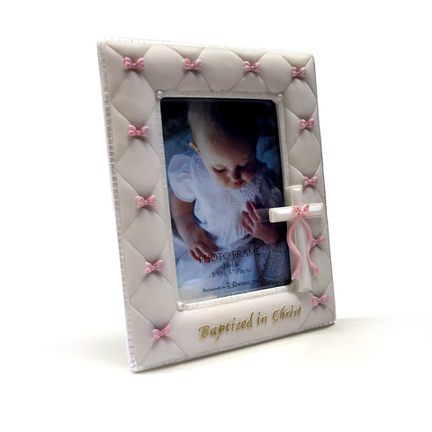 Baptized in Christ Picture Frame