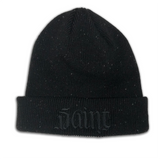 Saint Sinner Beanie - Black
