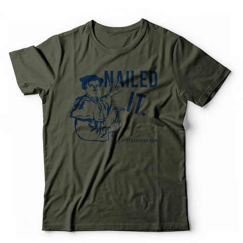 Nailed It T-shirt (Multiple Colors)