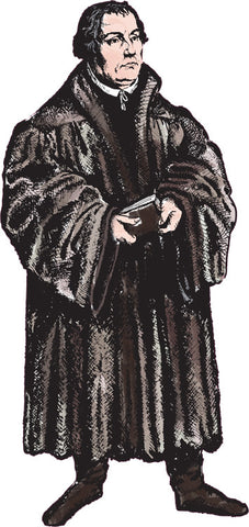 Life Size Martin Luther Sticker