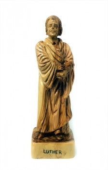 Olive Wood Martin Luther Statue
