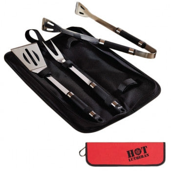 Hot Lutheran 3 Piece BBQ Set