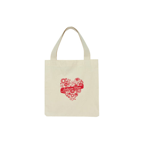 Lutheran Mom Floral Tote