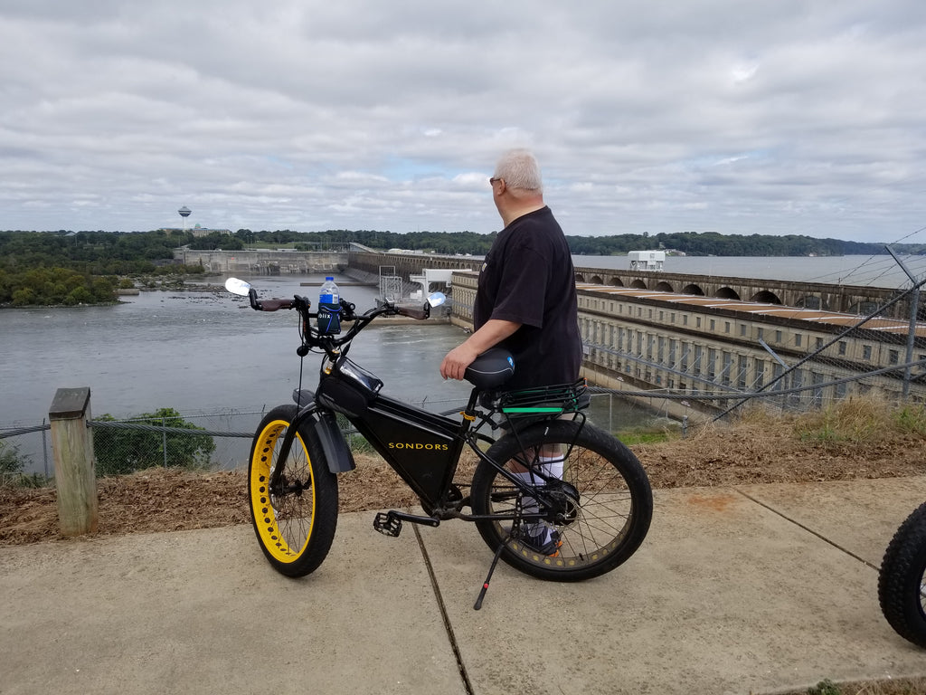 My SONDORS Life: John Willis Proves You Can Lose Weight Riding an E-Bike