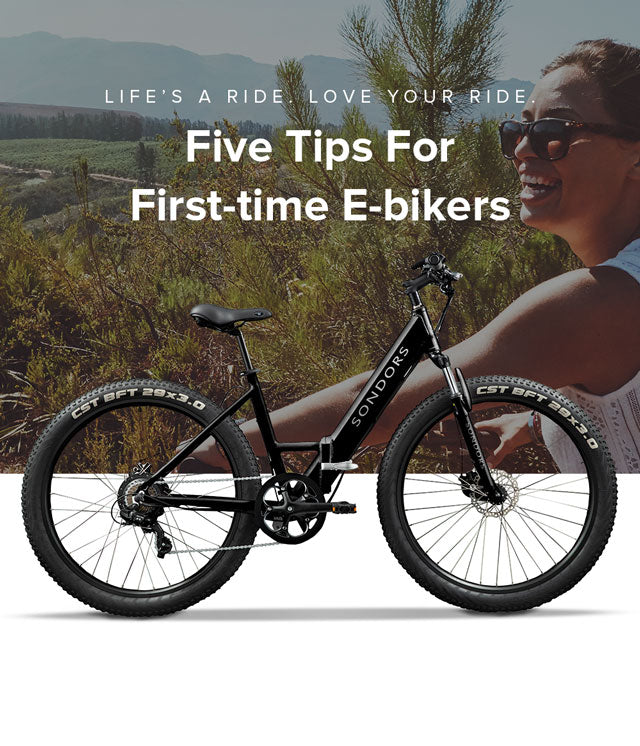 Five Tips For First-time E-bikers