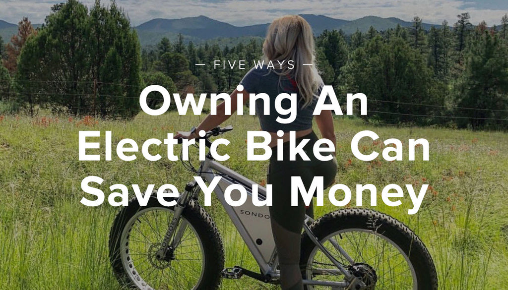 5 Ways Owning An Electric Bike Can Save You Money