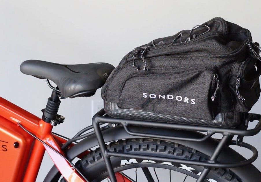 Accessories: SONDORS MXS Fenders, Rack + Bag Kit (MARCH SHIPPING)