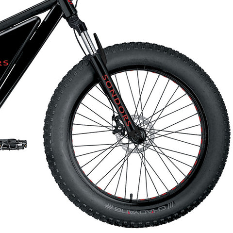 Suspension Fork (Original) - includes brake cables