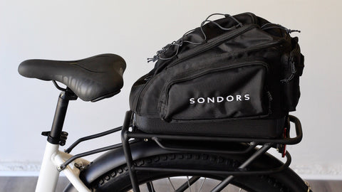 SONDORS Step Fenders, Rack + Bag Kit (NOVEMBER SHIPPING)