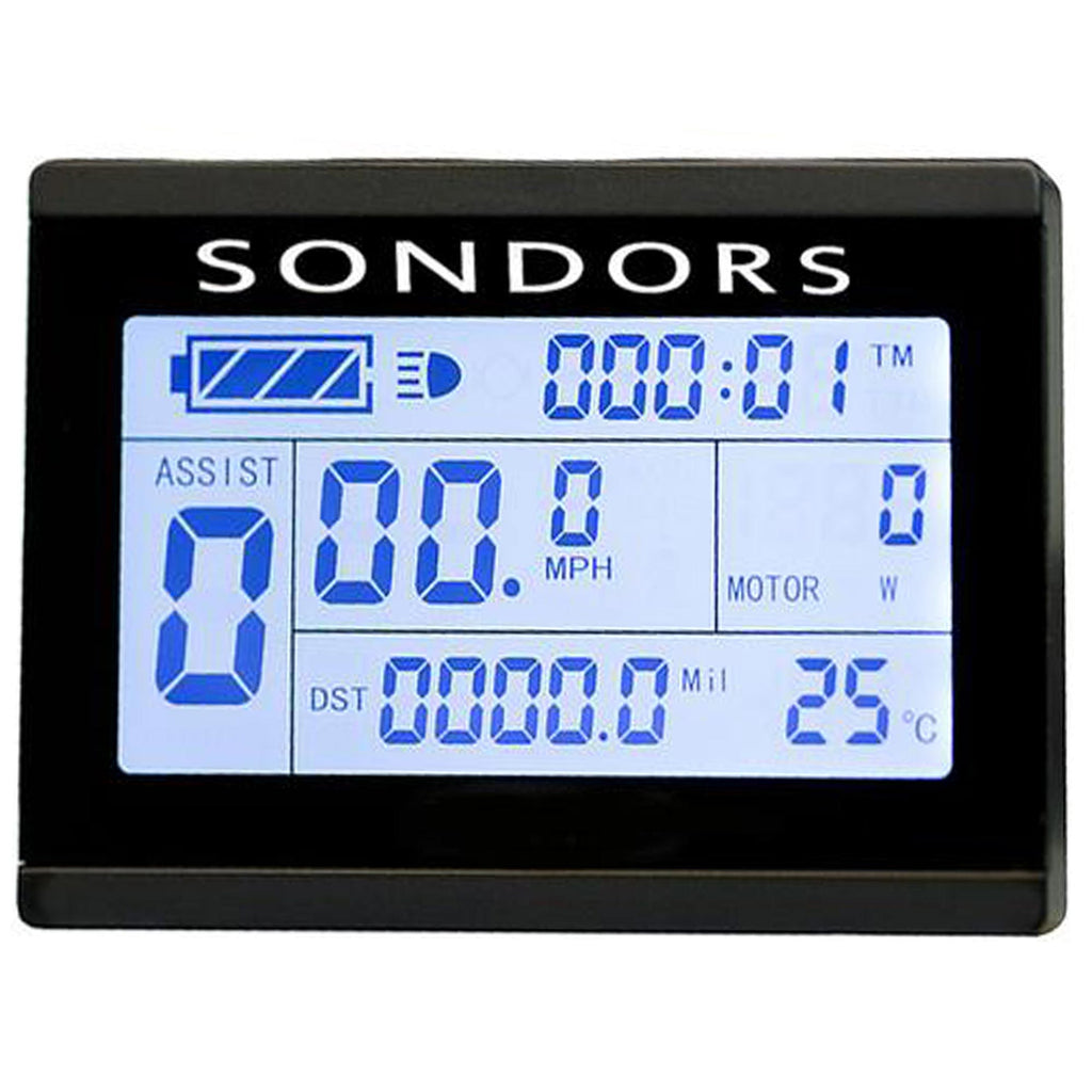 LCD Screen - SONDORS X (Delivered through October 2017)