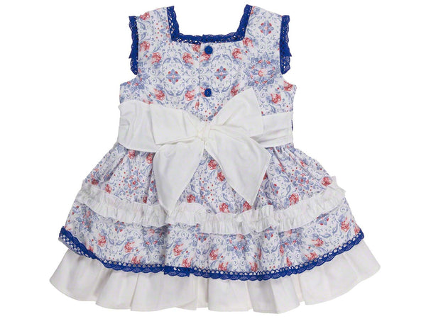 Dolce Petit Royal Blue and White Dress and Pants
