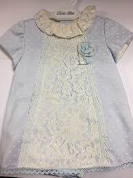 Dolce Petit Baby Blue Polka Dot Dress with pants
