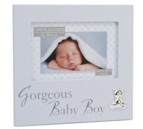 Gorgeous Baby Boy Blue Photo Frame