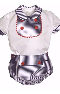Dolce Petit Boys sailor style shirt & jam pants