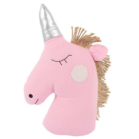 Pink Unicorn Doorstop