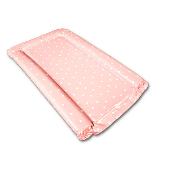 Pink Polka Dot Changing Mat