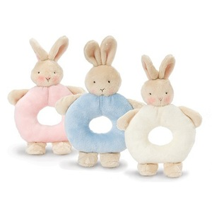 Bunnies by the Bay Ring Rattle