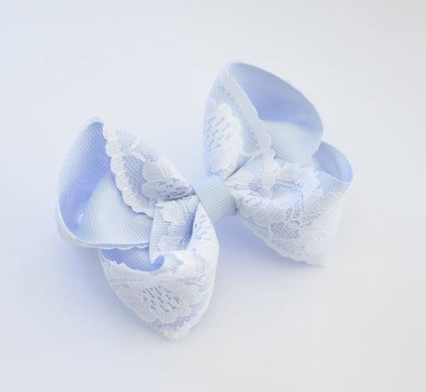 Bluebell Vintage Lace Bow
