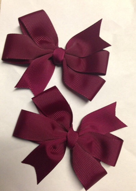 "Victory Heights 3"" Pinwheel Bow"