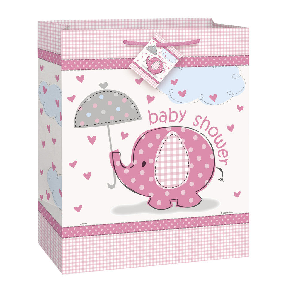 Baby Shower Gift Bag (Pink)