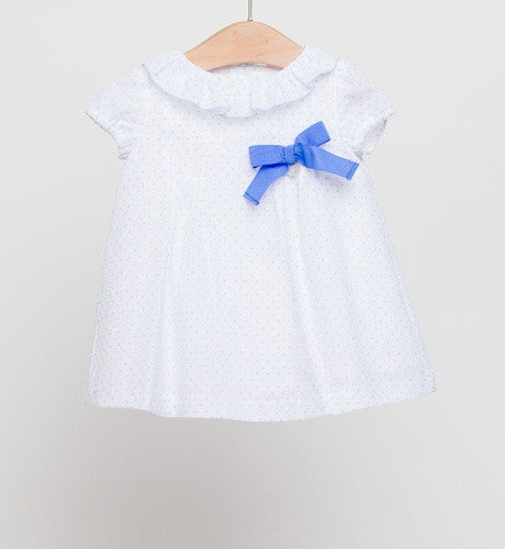 Fina Ejerique White Plumeti Dress