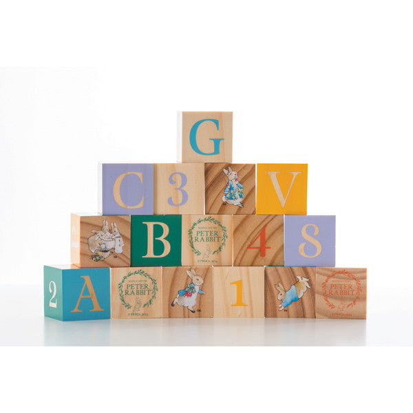 Peter Rabbit wooden picture blocks