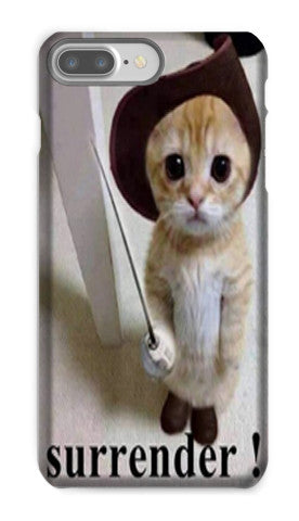 Choose Life.  Choose an iPhone case with your cat's face on it.  Choose Signsaver.co.uk