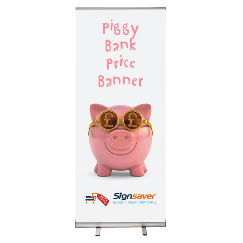 Piggy Bank Price Banner