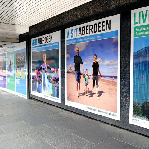 Printed Graphic Hoarding Panels