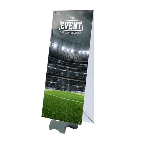 Event Duo Double Sided Outdoor Banner Stand