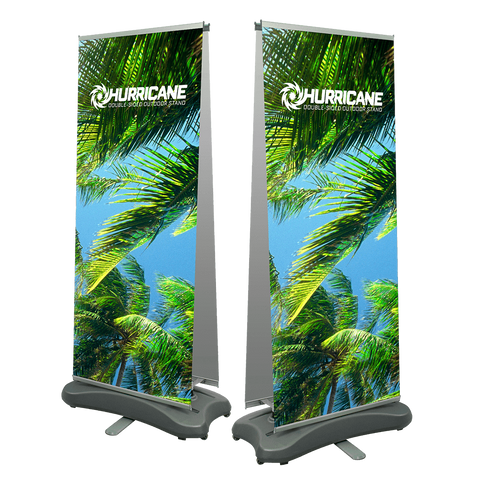 Hurricane Double Sided Outdoor Banner