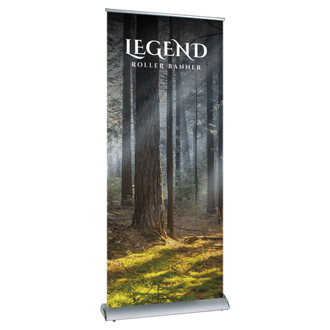 Legend Roll-Up Banner with Replaceable/Interchangable Graphic