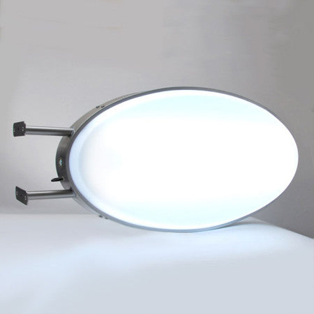 Oval Projecting LED Illuminated Light Box