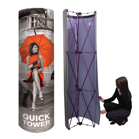 Pop-Up Tower Display