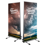 Thunder Outdoor Double Sided Roll-Up Banner