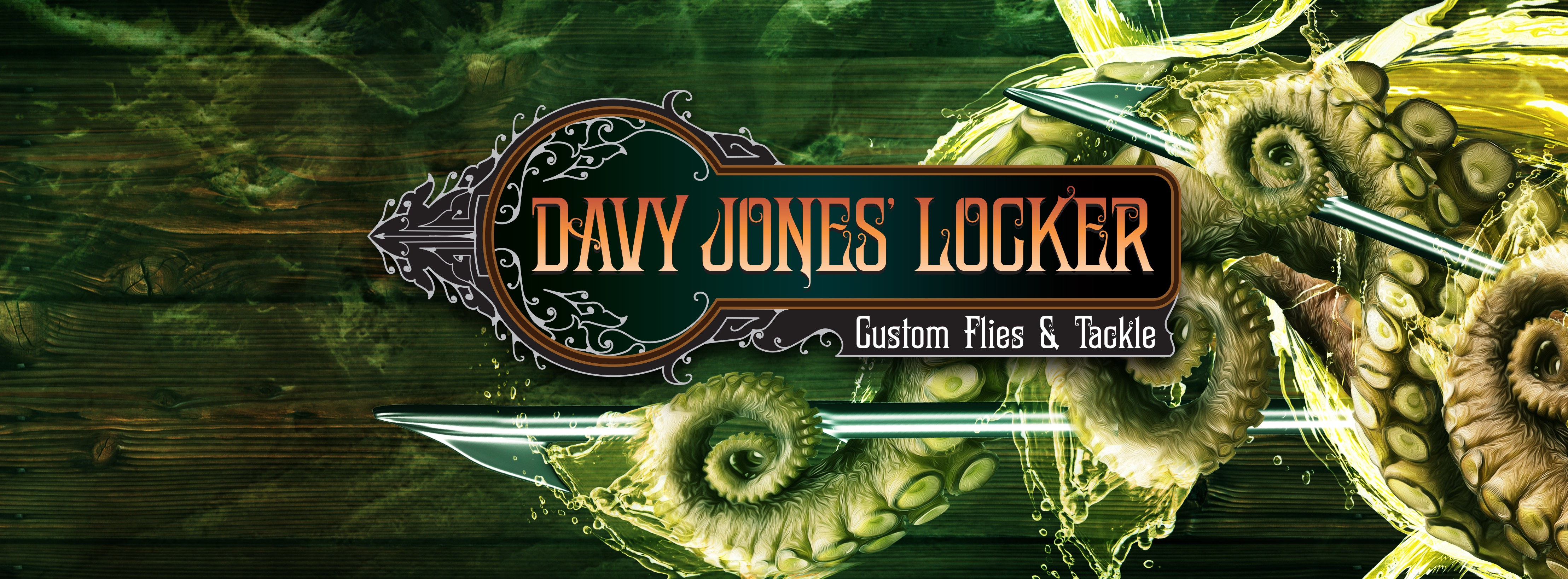 Davy Jones Locker Custom Flies and Tackle