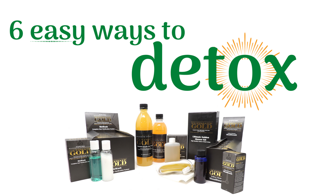 6 Easy Ways to Detox