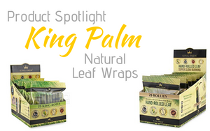 King Palm Natural Palm Leaf Wraps - Product Spotlight
