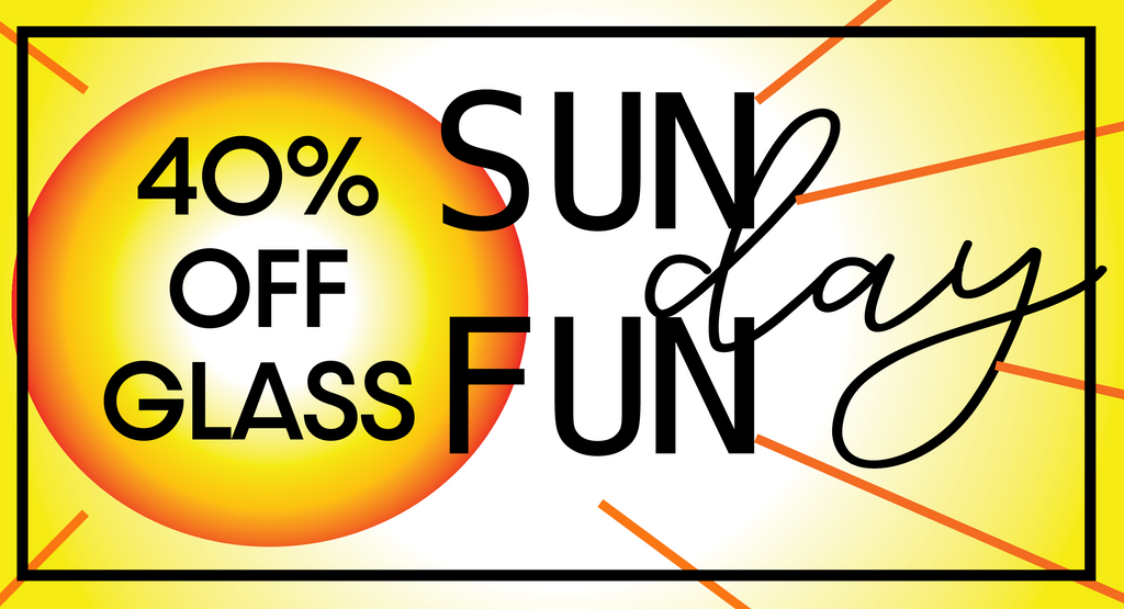 Sunday Funday Sale is Here!