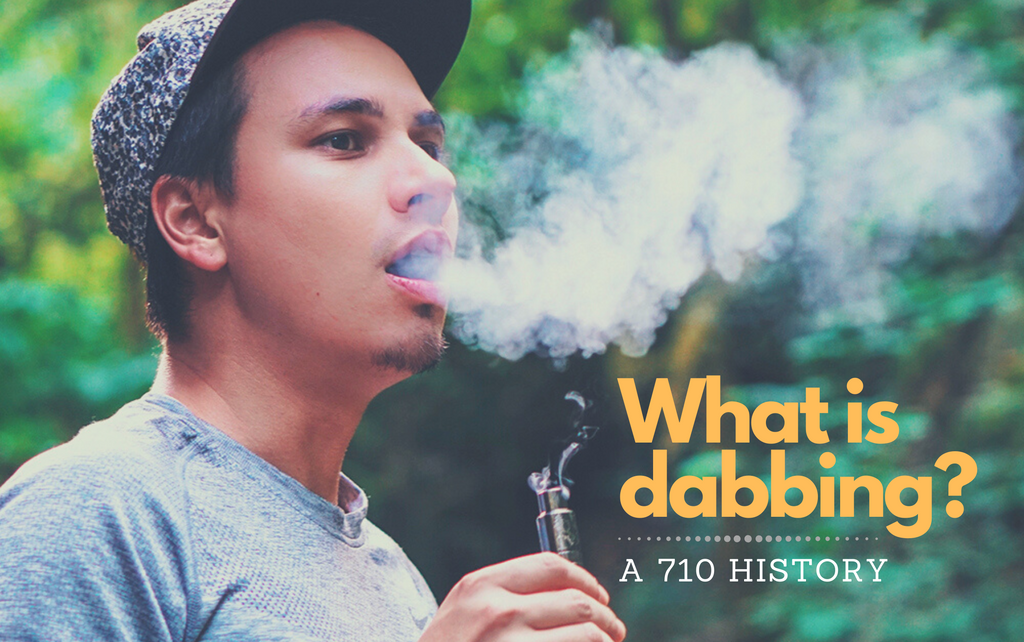 What is dabbing?  A 710 History