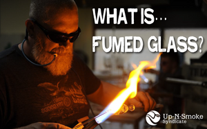 What is fumed glass?