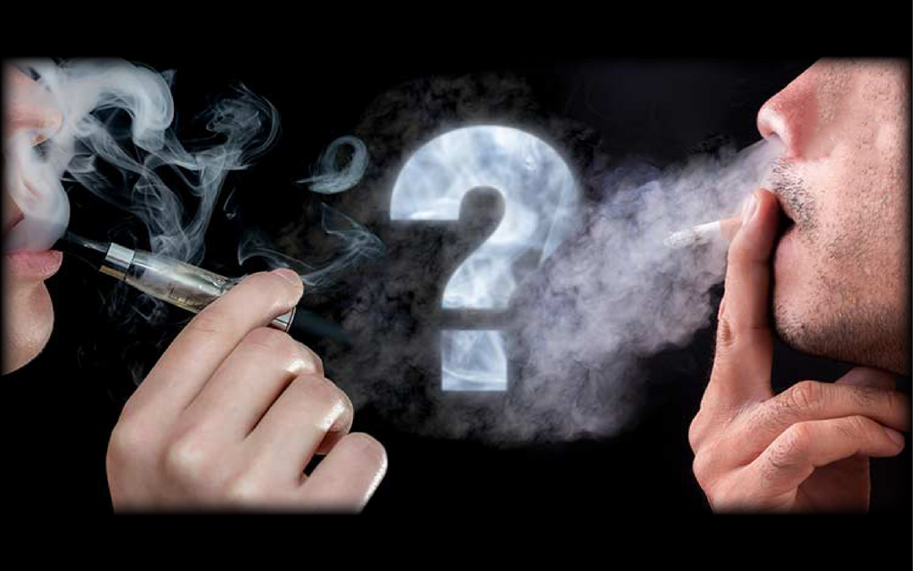 What's the difference between vapor and smoke?