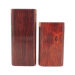 Classic Merlot Diamond Wood Snap Lock Top Dugout