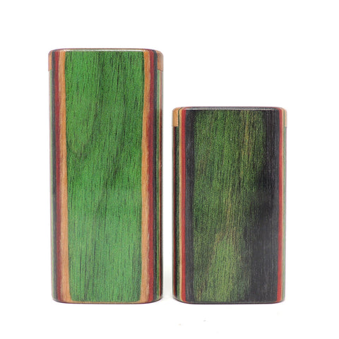 Classic Multi Color Diamond Wood Snap Lock Top Dugout
