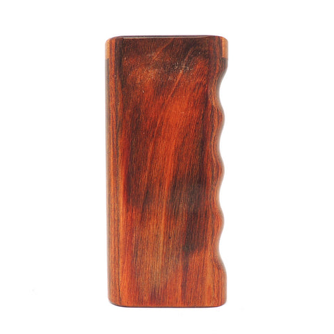 Premium Cocobolo Diamond Wood Snap Lock Top Dugout - Large Dugout online smoke shop dug eeze dugouts taster boxes Up-N-Smoke Online Head Shop