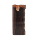 Premium Grip Walnut Diamond Wood Twist Top Dugout Dugout online smoke shop dug eeze dugouts taster boxes Up-N-Smoke Online Head Shop