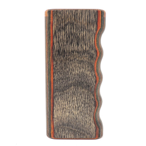 Premium Grip Camo Diamond Wood Slide Lock Top Dugout - Large