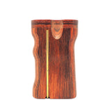 Premium Grip Cocobolo Diamond Wood #2 Twist Top with Poker Dugout Dugout online smoke shop dug eeze dugouts taster boxes Up-N-Smoke Online Head Shop