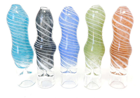 "Hand Eeze 3"" Twisted Chillum - Assorted Colors"